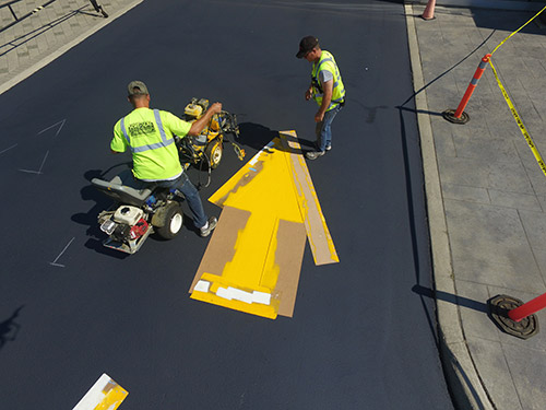 Specialty Line marking